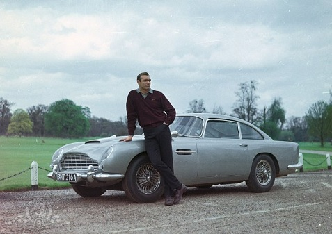 Article Aston Martin DB5 James Bond