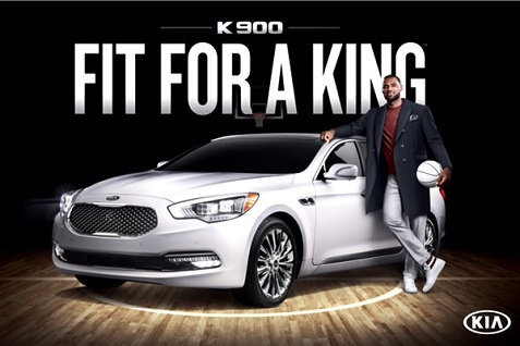 Lebron James Kia K900