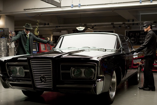 1965 Chrysler Imperial Crown Green Hornet car